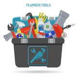 Plumbing Service Concept Royalty Free Stock Photo