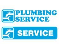 Plumbing service royalty free illustration