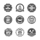 Plumbing service labels Royalty Free Stock Photography