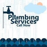 Plumbing service sea cover Stock Photos