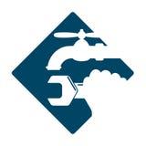 Plumbing service symbol Stock Photo