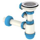 Plumbing siphon Stock Photography