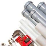 Plumbing Supplies Royalty Free Stock Photos