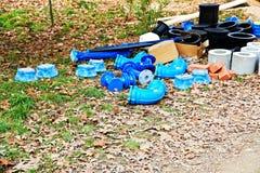 Plumbing supplies Stock Image