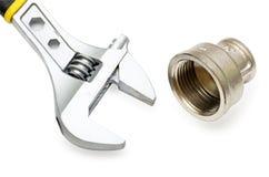 Plumbing Tools Stock Image