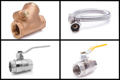 Plumbing tools and materials. See my other works in portfolio stock photography