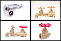Plumbing tools and materials. See my other works in portfolio royalty free stock image