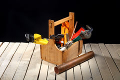 Plumbing tools Royalty Free Stock Photos
