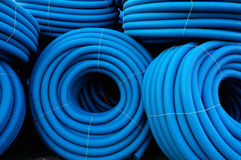 Plumbing tubes Stock Photos