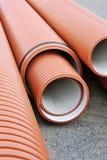 Plumbing tubes Stock Photography