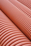 Plumbing tubes close-up Royalty Free Stock Photos