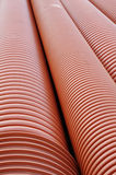 Plumbing tubes close-up Royalty Free Stock Image