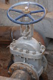 Plumbing valve. Royalty Free Stock Images