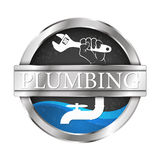 Plumbing and water system vector illustration Stock Photos
