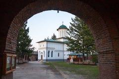 Plumbuita修道院 库存照片