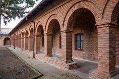 Plumbuita Monastery cells Stock Photography
