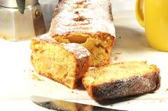 Plumcake με τα μήλα Στοκ εικόνες με δικαίωμα ελεύθερης χρήσης
