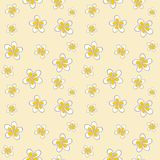 Plumeria. Seamless ornamental pattern Royalty Free Stock Images