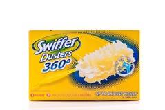 Plumeros de Swiffer Imagen de archivo