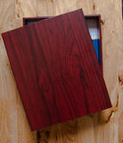 Plumier en bois Photographie stock libre de droits