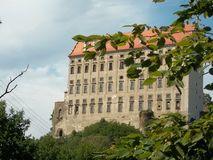 Plumlov城堡 图库摄影