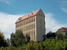 Plumlov城堡 库存图片