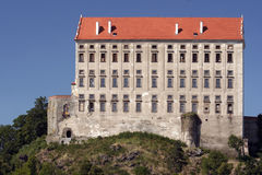Plumlov castle Royalty Free Stock Image