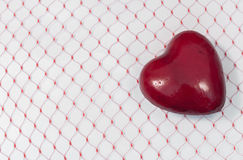 Plump red heart Royalty Free Stock Photography