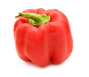 Plump red pepper Royalty Free Stock Photo
