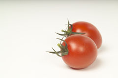 Plump tomatoes Royalty Free Stock Photos