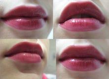 Plumpy Lippen lizenzfreies stockfoto
