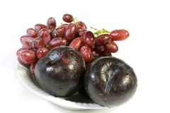 Plums Stock Photos