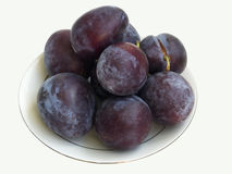 The plums Royalty Free Stock Images