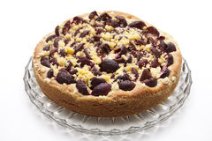 Plums cake Royalty Free Stock Images