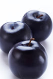 Plums close-up Royalty Free Stock Image
