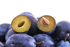 Plums Stock Images