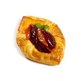 Plums pastries Royalty Free Stock Images
