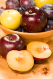 Plums and Pluots Stock Image
