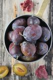 Plums Royalty Free Stock Photos