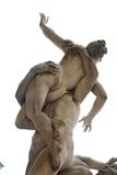 Plunder of the Sabine woman sculpture, Florence Royalty Free Stock Image