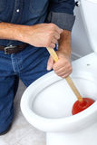 Plunger Royalty Free Stock Photo