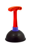 Plunger. To clean the toilet on an isolated white background Stock Photography