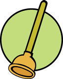 Plunger vector illustration Stock Photography