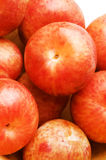 Pluots fruit hybrid plum and apricot Royalty Free Stock Image