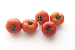 A plurality of tomato, white background stock photography