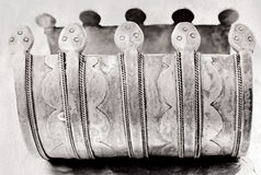 Plus de 100 années d'antiquité de bracelet de turc Photographie stock libre de droits