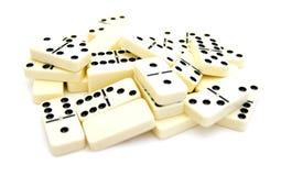 Plus de dominos Photo libre de droits