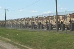 Plus de Humvees prêt pour la guerre image stock