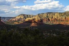 Plus de montagnes dans la vallée de Sedona Arizona Image libre de droits