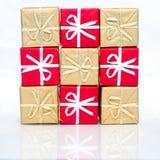 Plus de plus de cadeaux Image stock